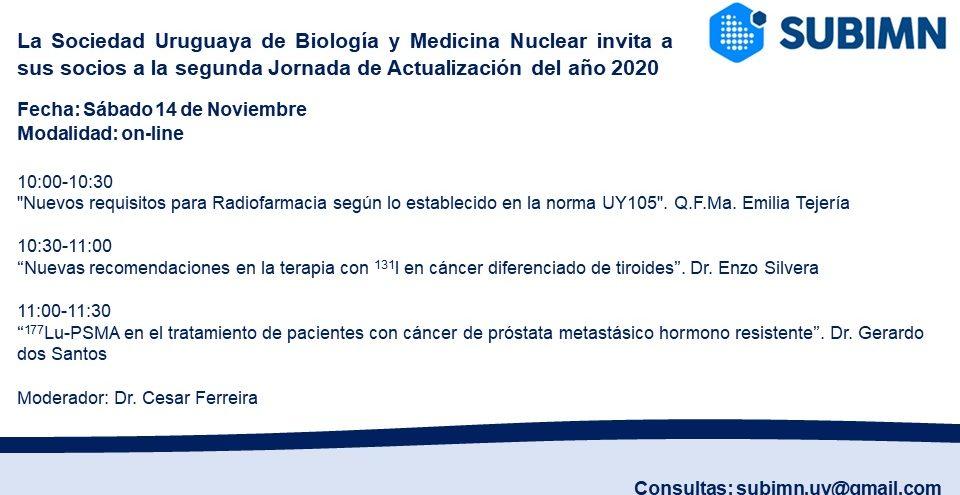 Invitación Jornada de Actualización 11-2020